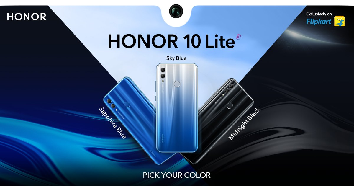 Honor 10 Lite launched with Kirin 710 SoC and dual rear camera in India